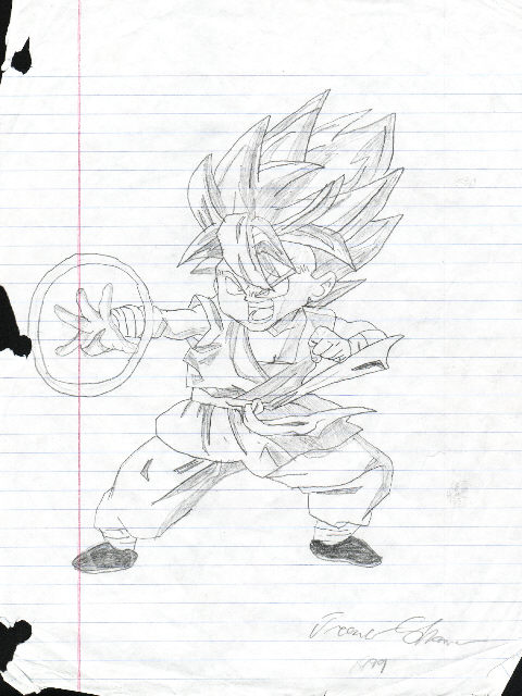 Dragon Ball z Characters Drawings in Pencil Pencil Dragon Ball z
