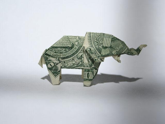 Dollar Bill Animals in Origami Second Revised Edition